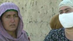 Сокинони деҳае дар ноҳияи Восеъ аз беобӣ ва коронавирус азият мекашанд