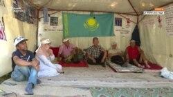 Активисты больше недели держат голодовку с требованием отменить решения суда по ДВК и «Көше партиясы»