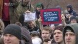 Protests in Krasnoyarsk and Novosibirsk