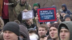 Protests in Krasnoyarsk and Novosibirsk