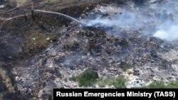 Пожежа на сміттєвому полігоні в Євпаторії, 16 липня 2021 року (ілюстративне фото)