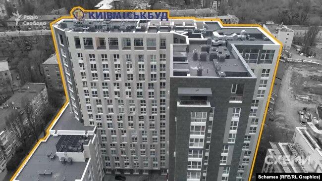 У травні 2020-го Інна Журба стала власницею восьми квартир і восьми паркомісць в елітній багатоповерхівці на Печерську