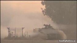 İsrail ordusu Qəzza ilə sərhədə əlavə hərbi texnika yığır