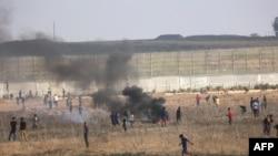 غزه کې اعتراضونه