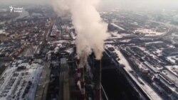 """""""Fekete ég"""" riadó Európa egyik legrosszabb levegőjű városában"""