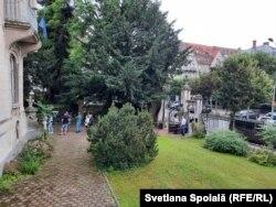 Imagini de la primele ore ale zilei de la Sectia de votare din Strasbourg, Franta. Pozele sunt trimise de Svetlana Spoiala. In Franta au fost deschise 10 sectii de votare, dintre care 1 la Strasbourg , 11 iulie 2021.