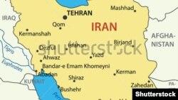 Иран картасы. (Көрнекі сурет)