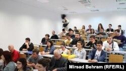 Sa predavanja u Mostaru, 8. maj 2014.