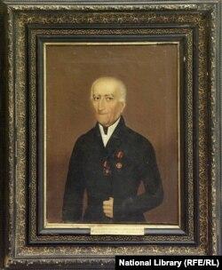ტიტულარული მრჩეველი, სტეფანე მიზანდარი (1781-1859)