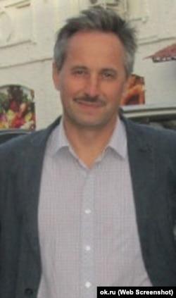 Андрей Аверьянов в 2012 году, фрагмент фотографии
