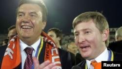 Віктор Янукович і Рінат Ахметов, Кривий Ріг, травень 2006 року