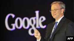 Google ijrochi direktori Erik Shmidt.