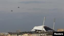 Ruski avion u bazi Latakija, ilustracija