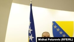 Vjekoslav Bevanda u Parlamentu BiH, 12. januar 2011.