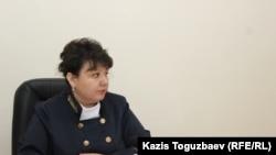 Судья Ауэзовского районного суда по гражданским делам Гульжан Имансерикова. Алматы, 18 июня 2018 года.