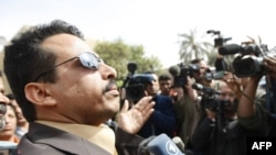 عدي الزيدي أخو الصحفي العراقي منتظر الزيدي