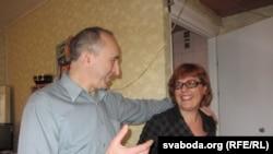 Вольга і Віктар Савіцкія