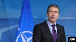Sekretari i përgjithshëm i NATO-s Anders Fog Rasmusen, 18 prill 2012