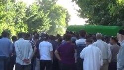Маросими видоъ бо Махсуми Абдусаттор баъди кушта шудан дар маҳбас