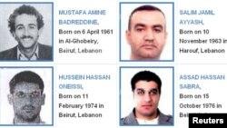 Četvorka za kojom je raspisana poternica zbog ubistva premijera Libana