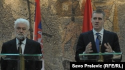 Црногорскиот премиер Игор Лукшиќ