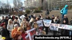 У Донецьку протестували проти знищення безпритульних тварин перед Євро-2012