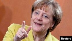 Канцлер ФРГ Ангела Меркель.