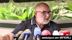Сейран Сароян, Эчмиадзин, 20 августа 2019 г.