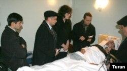 ATƏT və ABŞ səfirliyinin nümayəndələri Nicat Dağlara baş çəkiblər, 27 dekabr 2006