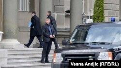 Premijer Ivica Dačić dolazi na sastanak