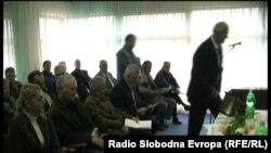 Претставници на македонското малцинство кое живее во Бугарија, на одбележувањето на јубилејот во Прилеп