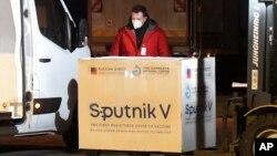 Սլովակիա - Կոշիցեի օդանավակայան է ժամանել Sputnik V-ով բեռնված օդանավը, 1-ը մարտի, 2021թ․