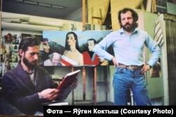 Валеры Славук і Мікалай Селяшчук