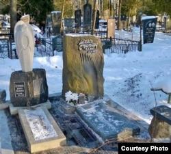 Магіла Міхася Стральцова на сталічных Чыжоўскіх могілках