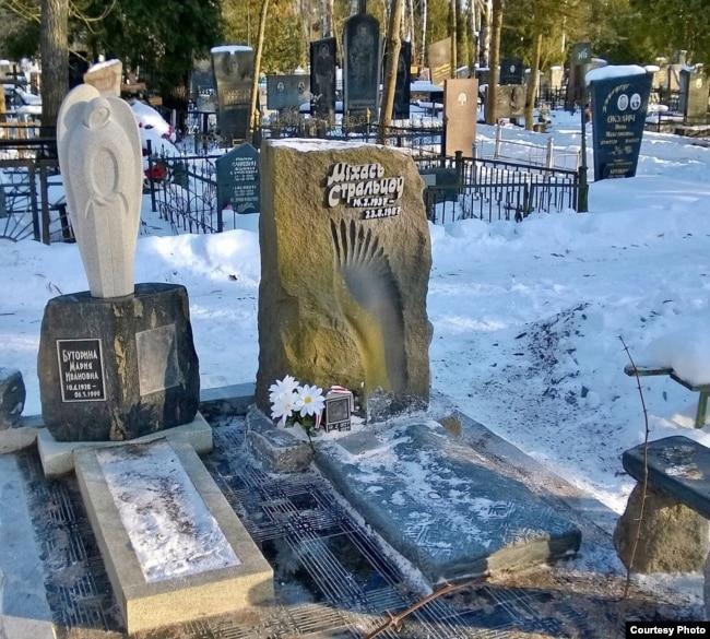 Магіла Міхася Стальцова на Чыжоўскіх могілках