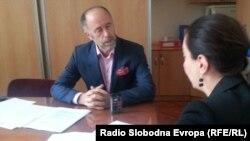 Dekan Šaćir Filandra u razgovoru sa novinarkom RSE Mirnom Sadiković