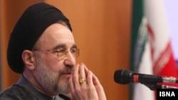 محمد خاتمی، رييس جمهوری سابق ايران، در سخنانی از از سیاست های موجود انتقاد کرده بود. عکس از ایسنا