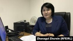 Заместитель руководителя управления образования Актюбинской области Нургуль Бертлеуова.