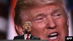 АКШ президенттигине талапкер Дональд Трамп.