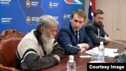 Староверы в гостях у губернатора А.Козлова