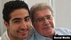 محمدرضا شجریان در کنار پسرش، رایان، ۱۳۹۶