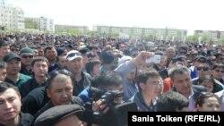 Протестите во Атирау