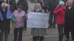 Рівняни протестували проти податкових змін для аграріїв