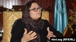 فریده مومند وزیر تحصیلات عالی افغانستان