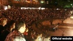 Архивска фотографија: Фестивал Охридско лето.