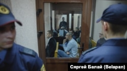 Пачатак суду над былымі кіраўнікамі Ашмянскай мытні, 5 сьнежня 2016 году