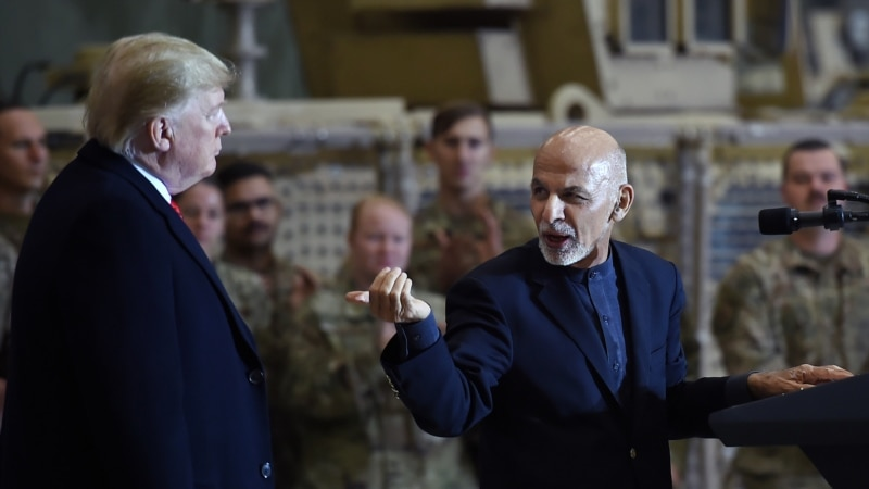 """ټرمپ افغانستان ته خپل سفر بریالی وباله"""