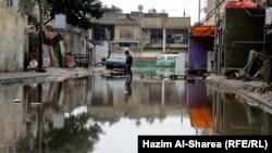 ادى شوارع بغداد بعد الامطار الاخيرة
