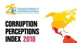 Türkmenistan regionda korrupsiýa boýunça öňe çykdy