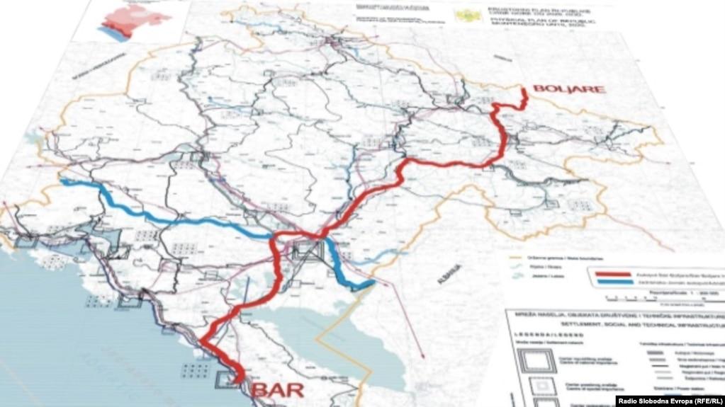 autoput beograd bar mapa Nakon godina čekanja na Autoput Bar Boljare: Treći pokušaj sa Kinezima autoput beograd bar mapa